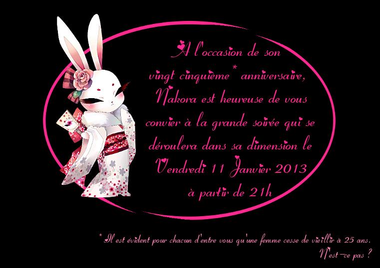 Invitation officielle Invitation